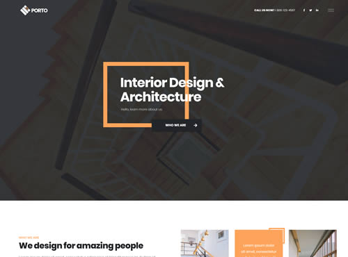 Architect Website Sample